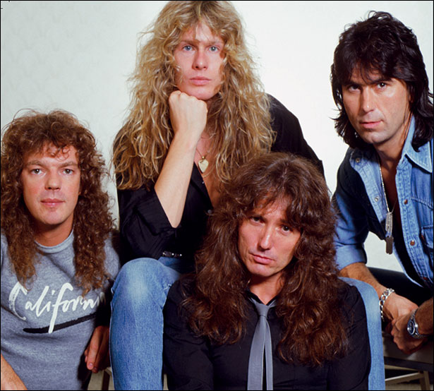 Whitesnake Band 1984