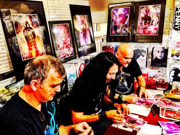 Autograph Signing Session –  Douglas Blair of W.A.S.P., Christ Laney (Brown Jenkin), Sean Branney (Father Iwanicki)