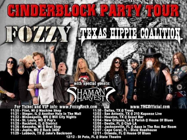 Fozzy-tour