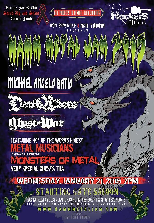 Namm Metal Jam 2015
