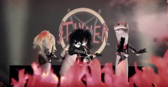 Slayer Sock Puppets