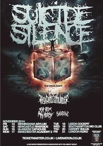 Suicide Silence Tour