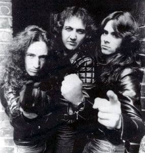 The Rods in 80s'
