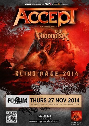 Voodoo Six Accept