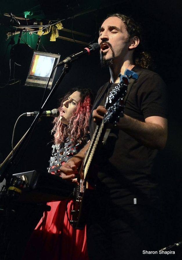 Moran Magal and Yossi Sassi - Tel Aviv 15 September 2014 - photo by Sharon Shapira