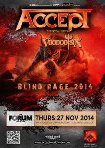 Accept Voodoo Six