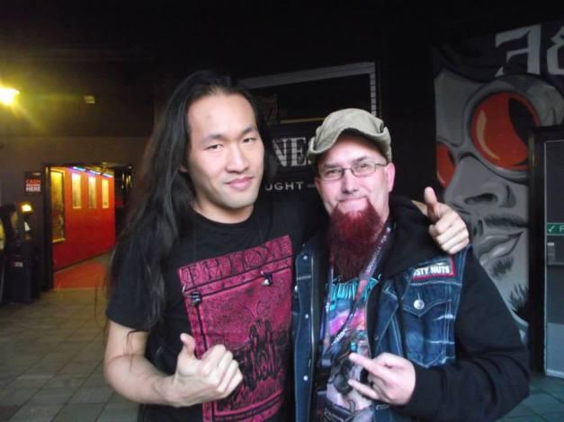 David Pearce with Herman Li