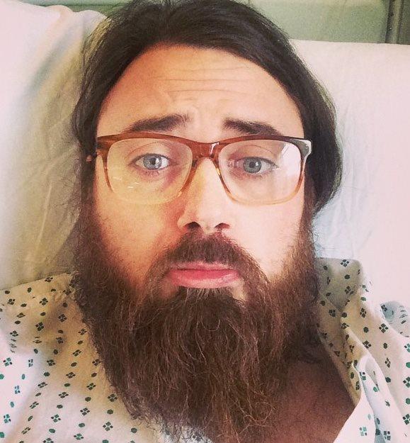 Tomas Hubbard in hospital