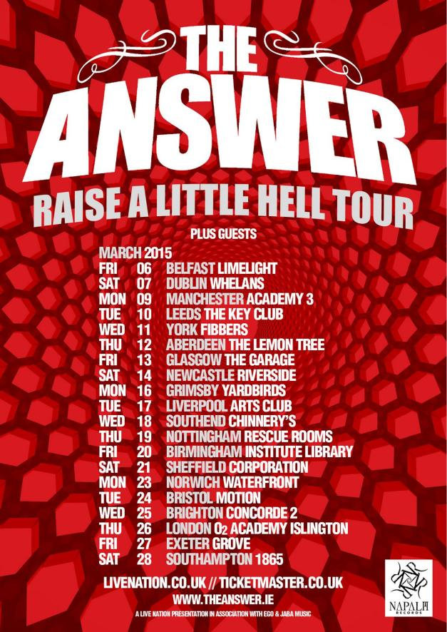 The Answer Tour 2014