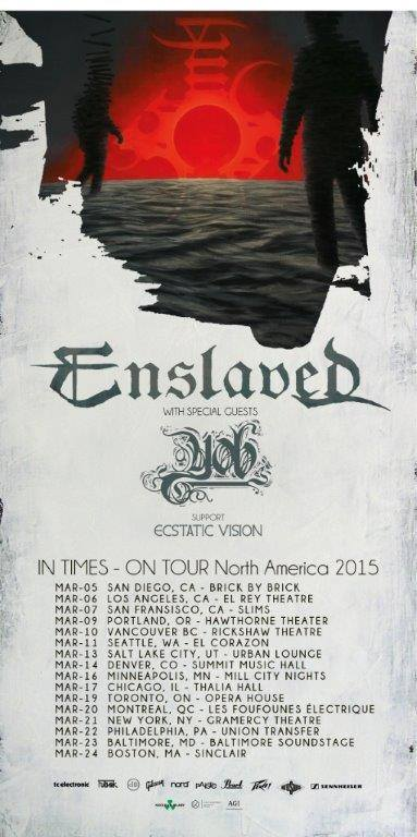 Enslaved-tour