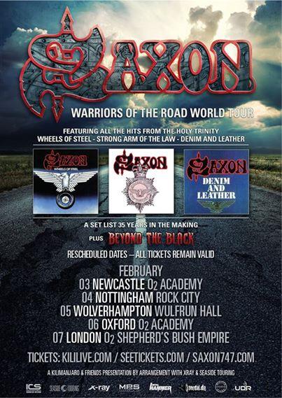 Saxon Tour 2015