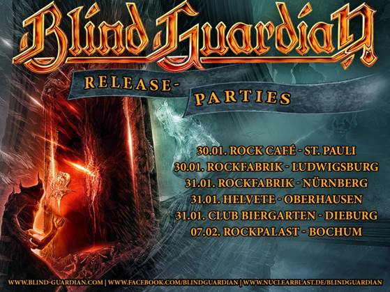 Blind Guardian Release Parties