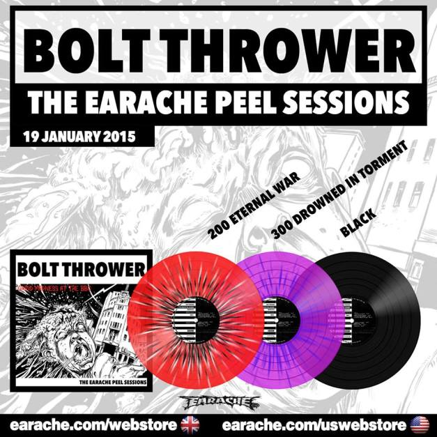 Bolt Thrower Peel Sessions