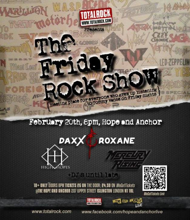 Friday Rock Show