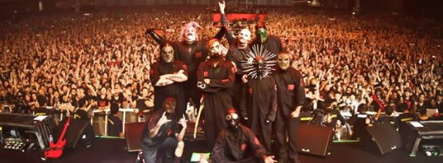 Slipknot-stage