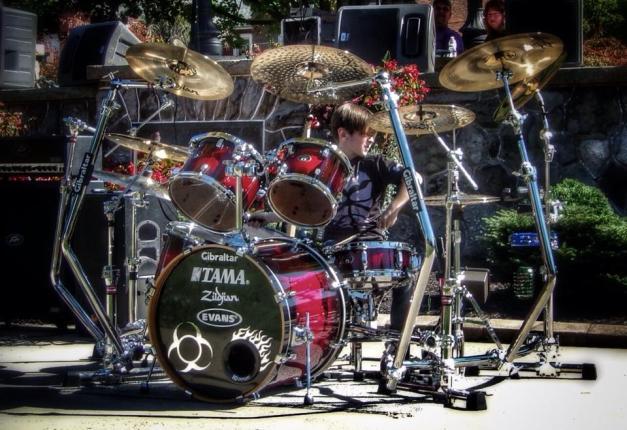 AlexShumaker-8yrs-drummer