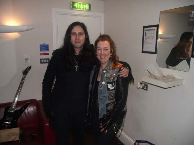 GUS G, Blackdiamond Rescue Rooms, Nottingham February 2015