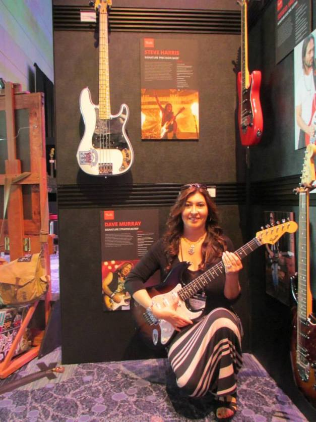 Iron Maiden Guitars NAMM