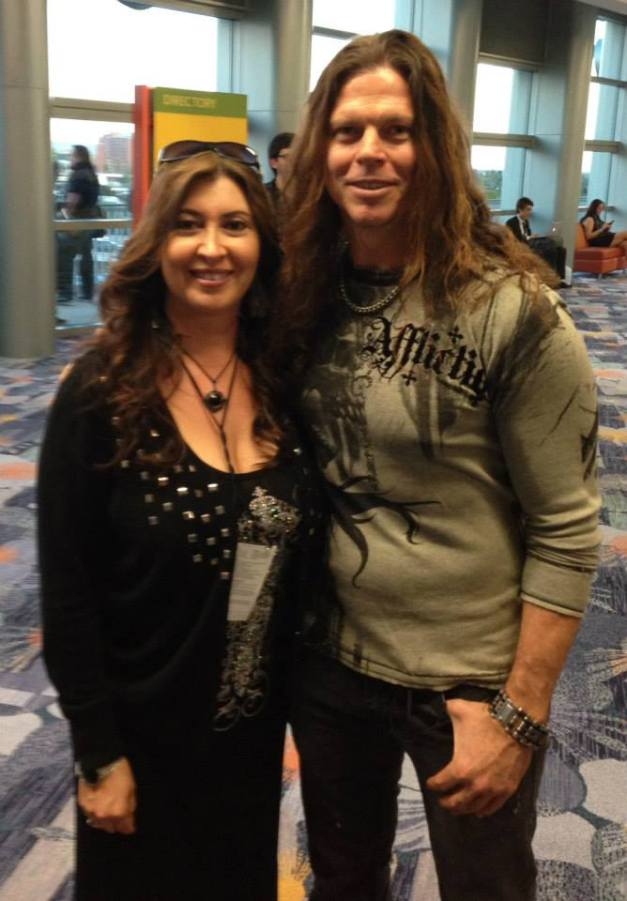 Sandy With Mark Zavon, KILL DEVIL HILL, NAMM 2015