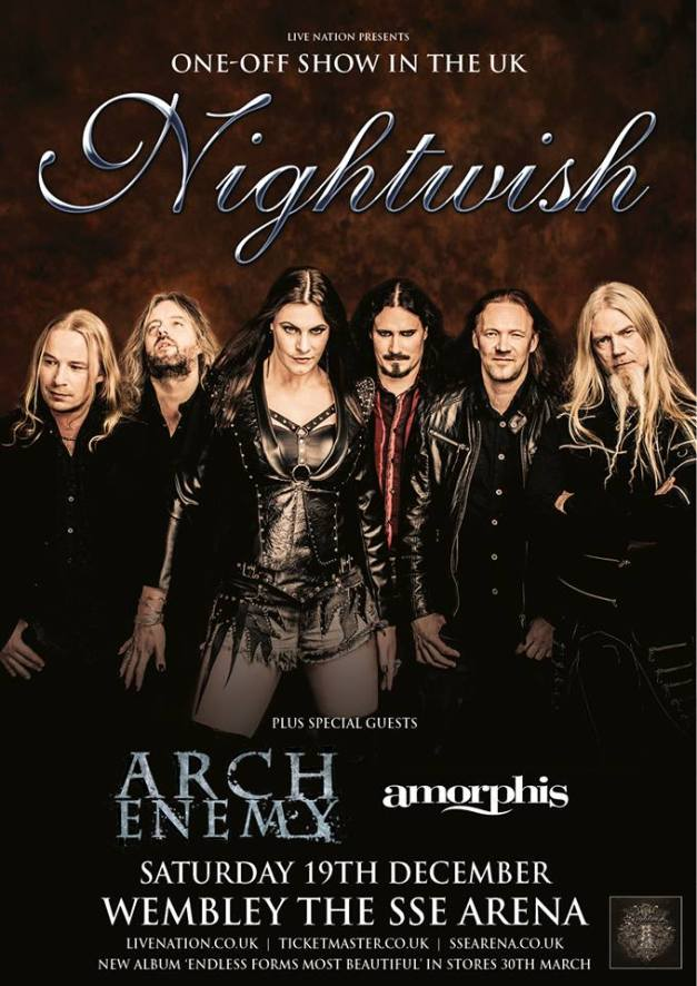 Nightwish UK Show