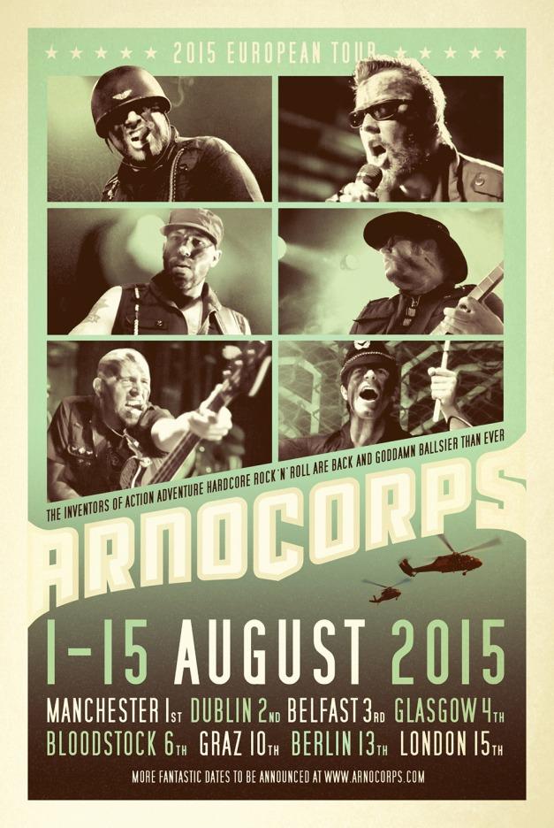 Arnocorps tour 2015