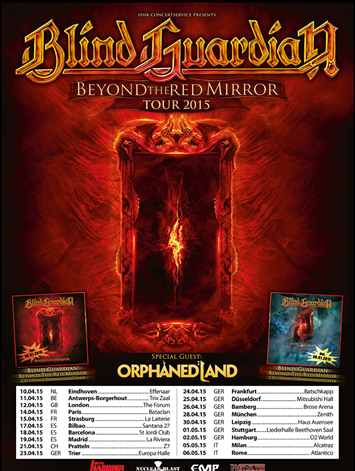 Blind Guardian Orphaned Land
