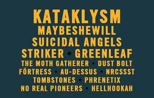 Devilstone 2015 Bands