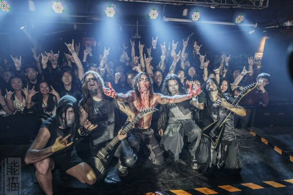 (Noctem after one of their shows in their latest China Tour)