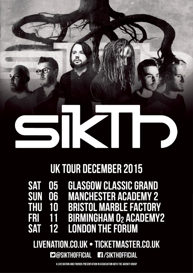 Sikth UK Tour