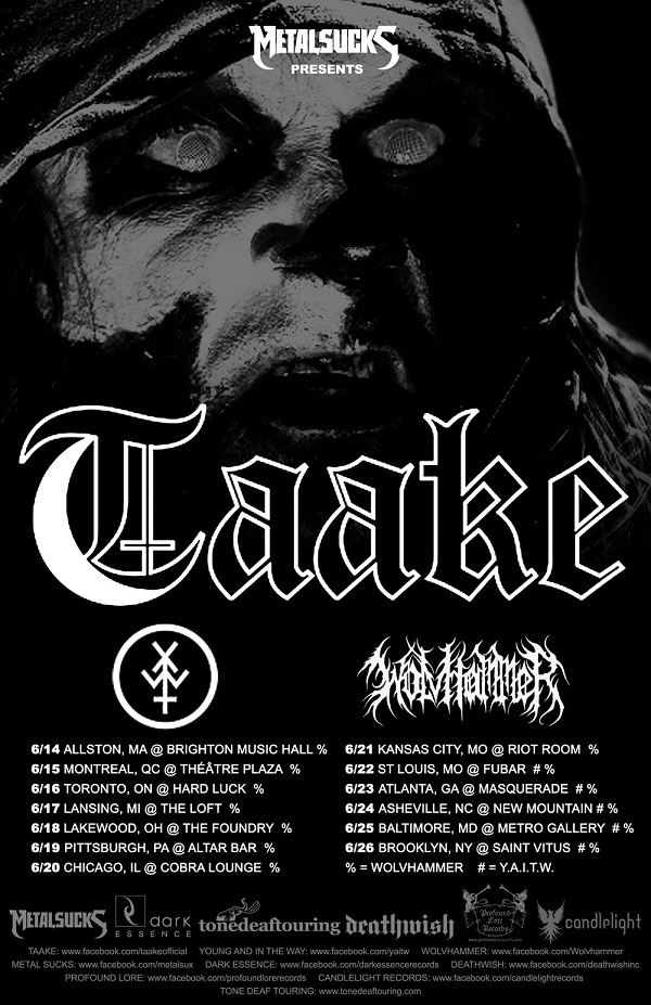 Taake-north-american-tour