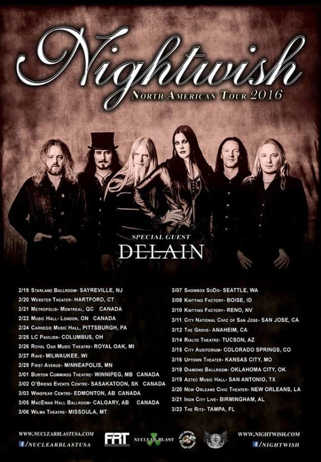 Nightwish-Delain-tour