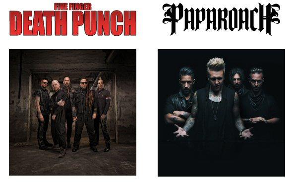 FiveFingerDeathPunch-PapaRoach
