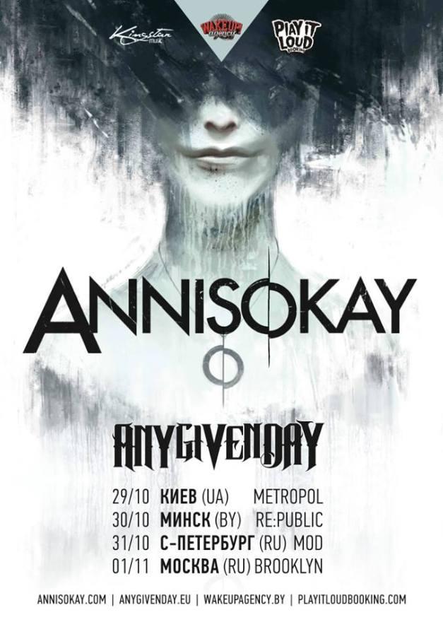 Annisokay-Russiatour