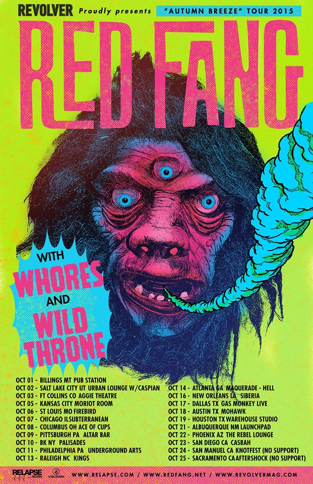RedFang-tour