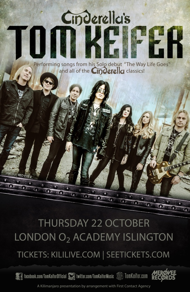Tom Keifer UK Flyer