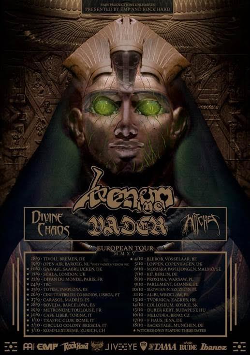 VADER tour with VENOM Inc