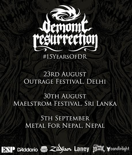 Demonic Resurrection Tour Poster 2015