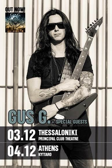 Gus G Live 2015