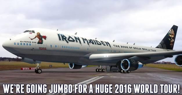 Iron Maiden Tour 2016