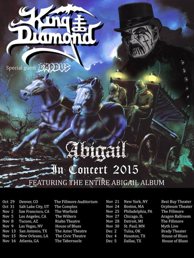 King Diamond Tour 2015