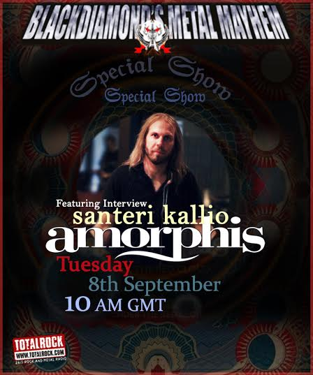 Amorphis Show Poster