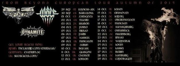 Enforcer Tour 2015