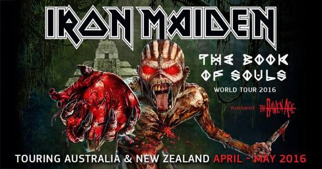 Iron Maiden Australia 2016