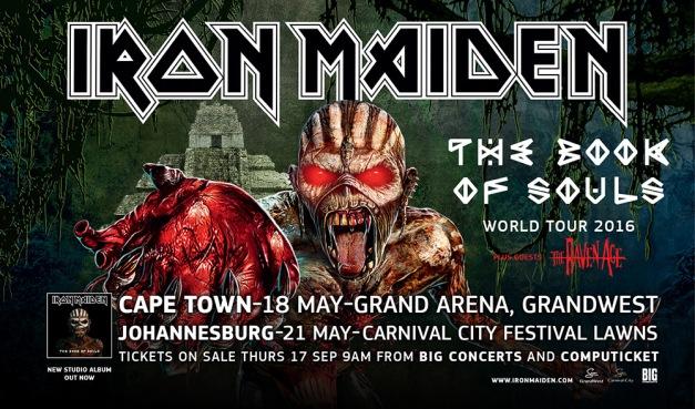 Iron Maiden World Tour 2016