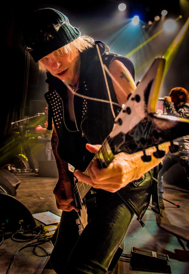 Michael Schenker on guitar