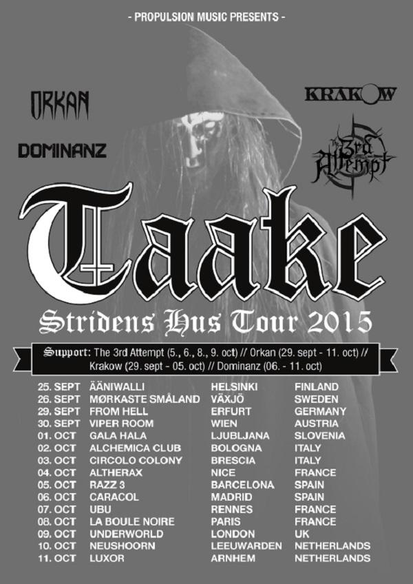 Taake-tour