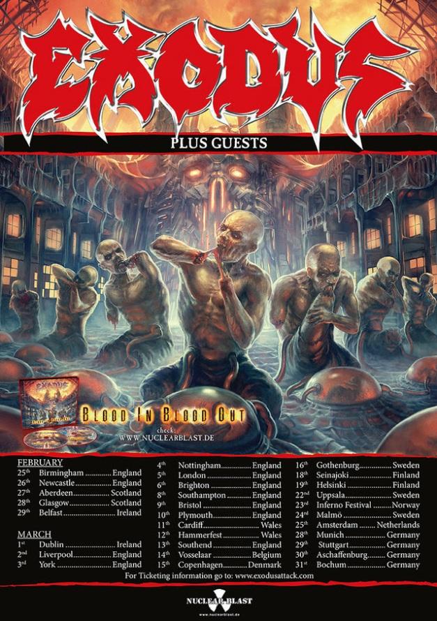 Exodus 2016 Tour