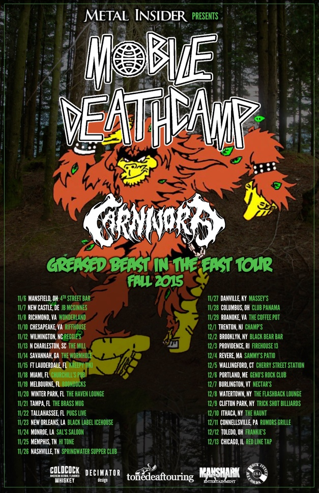 Greasesd Beast In The East Tour 2015