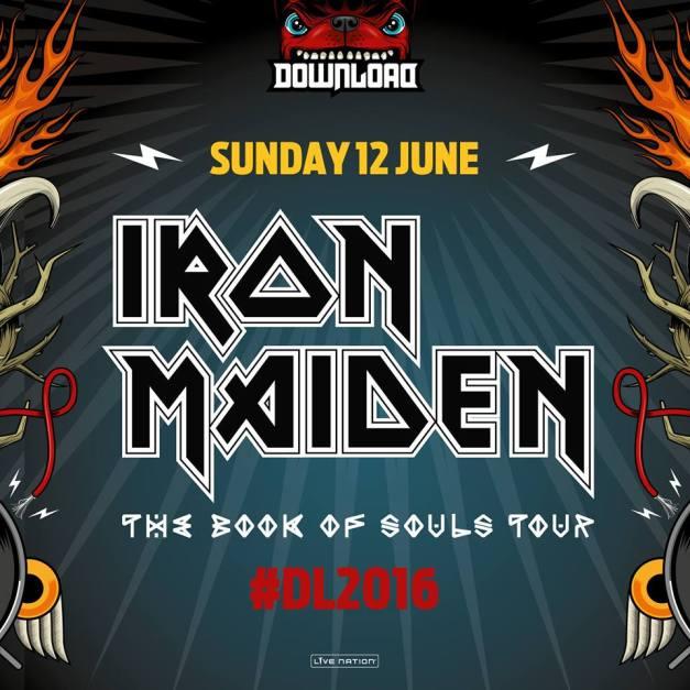 Iron Maiden Download 2016