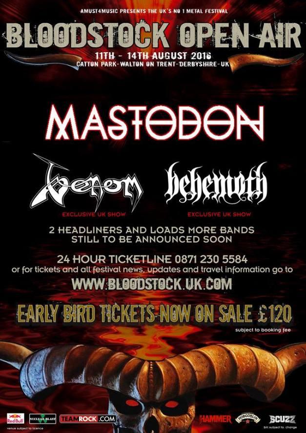 Mastodon Bloodstock 2016